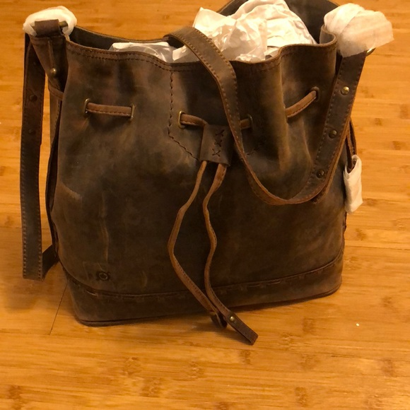 5062b766b1b Born Bags   Distressed Leather Bag By Medium Sized   Poshmark